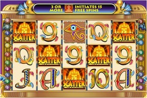 slot with huge scatter win