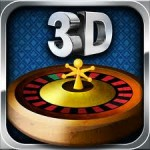 Play the roulette app in 3D