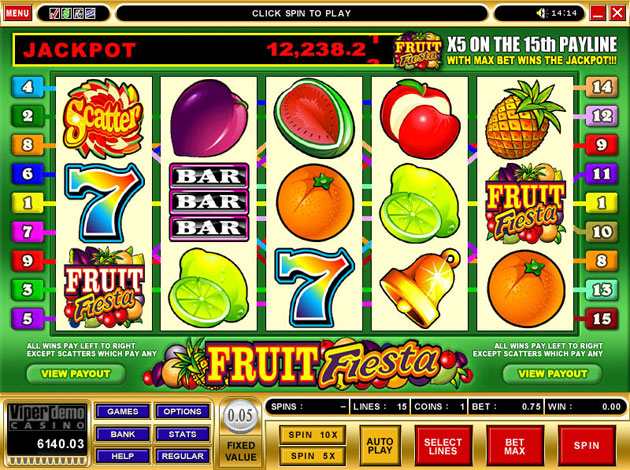 slot machine fruit free games