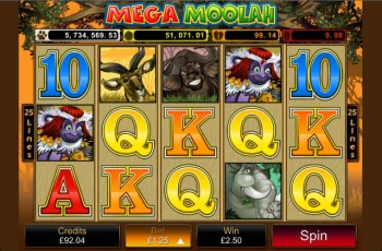 Mega Moolah mobile app review