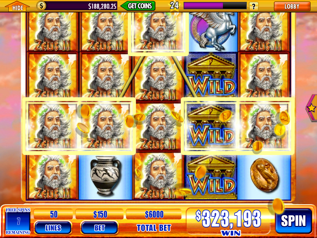 casino slot game zeus