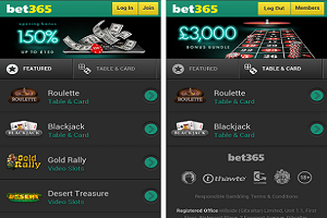 bet365 app for samsung