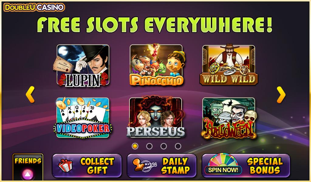 double u casino free spins facebook