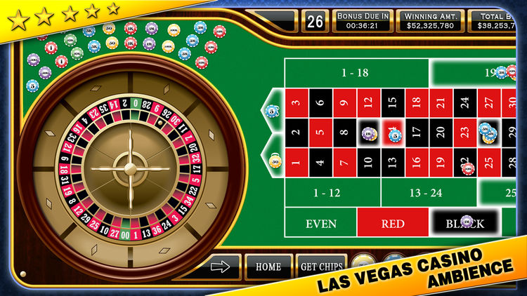 Roulette Casino STyle for iPhone and iPAd