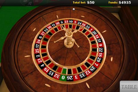 Roulette 3d app by Viaden