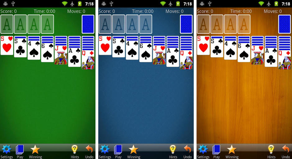 solitaire mobilityware screenshot 1