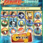 Samurai vs Zombies Slots