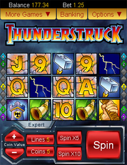 thunderstruck app