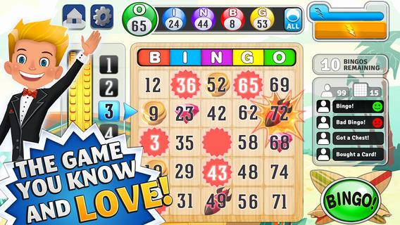 Bingo app iphone and ipad