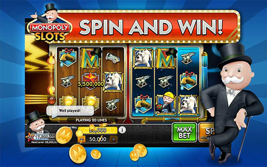 Monopoly Slots ipad and iphone