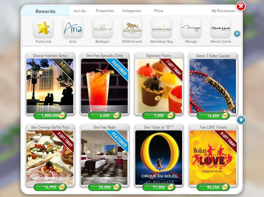 MyVegas for iphone and iPad