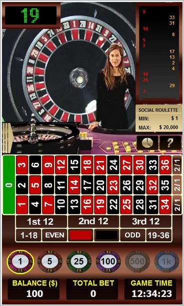 Live Roulette android smartphones