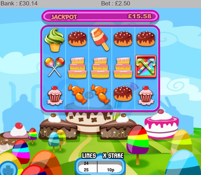 Sweet treats slots iphone and ipad