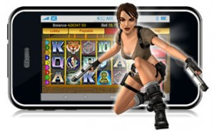 Tombraider slots iPhone