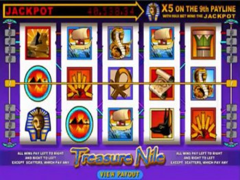 Treasure nile slots app