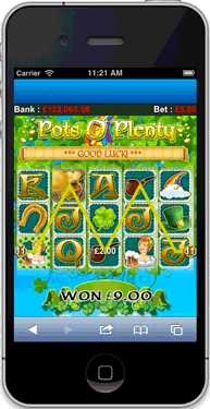 Pots O Plenty slots