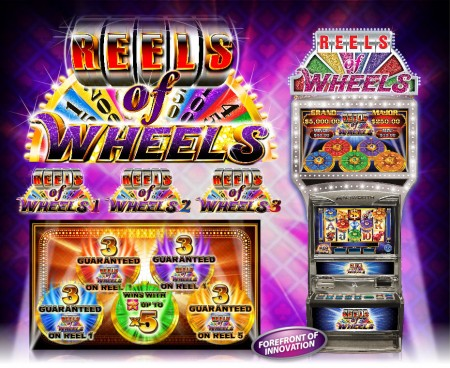 Reels of Wheels. One of Ainsworth pokie stars.