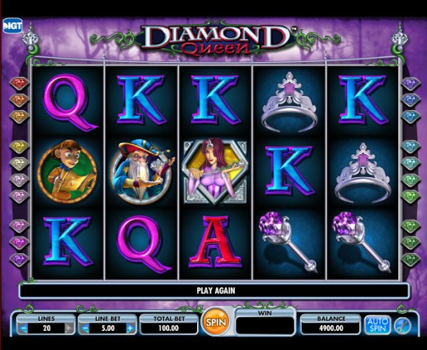 Diamond queen slot app