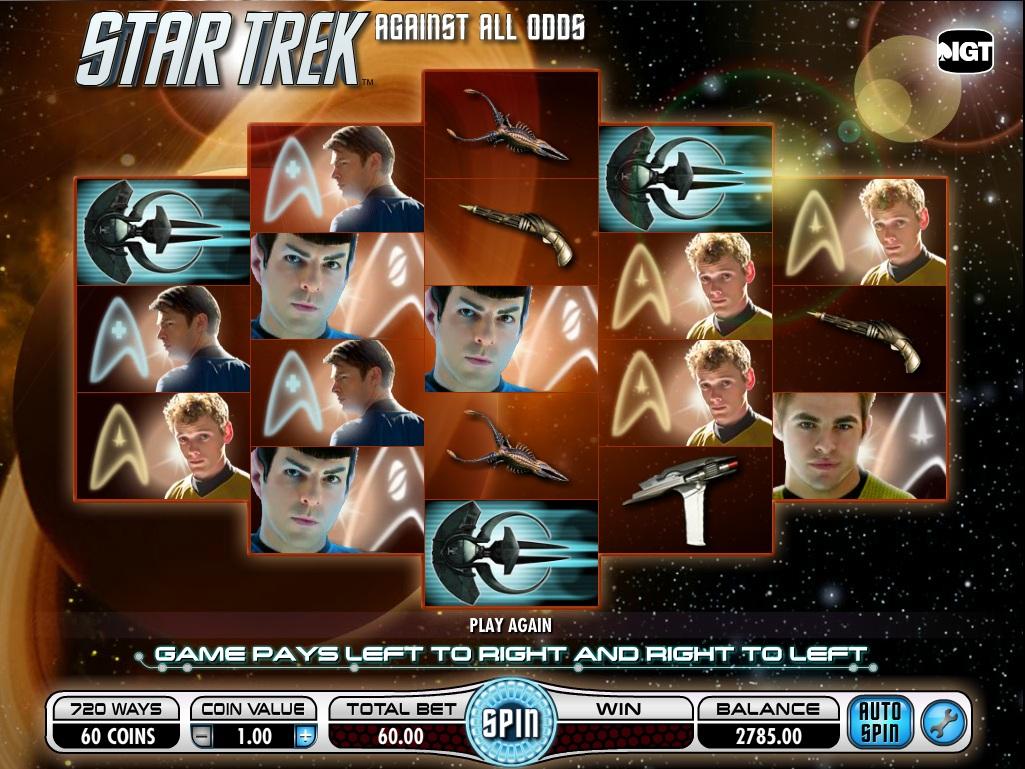 Star Trek slots app