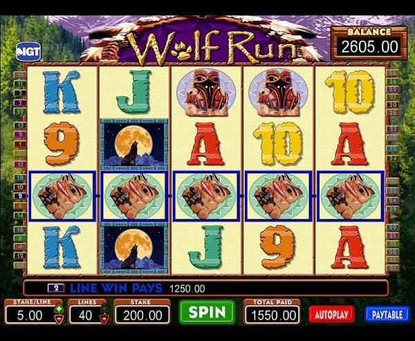 Wolf Run Slots Game