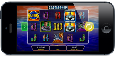 battleship slot mobile