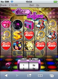 disco dollars slot app