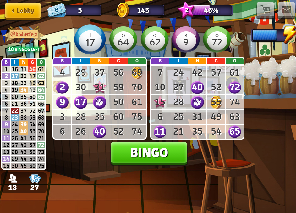 Bingo Crack on tablet
