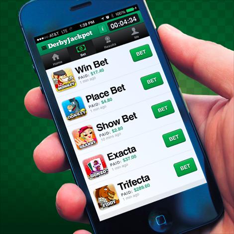 Derby Jackpot mobile