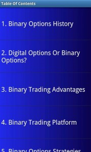 Make Money With Binary Options chapters