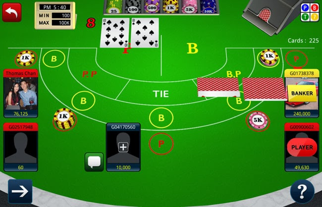 Baccarat iPhone