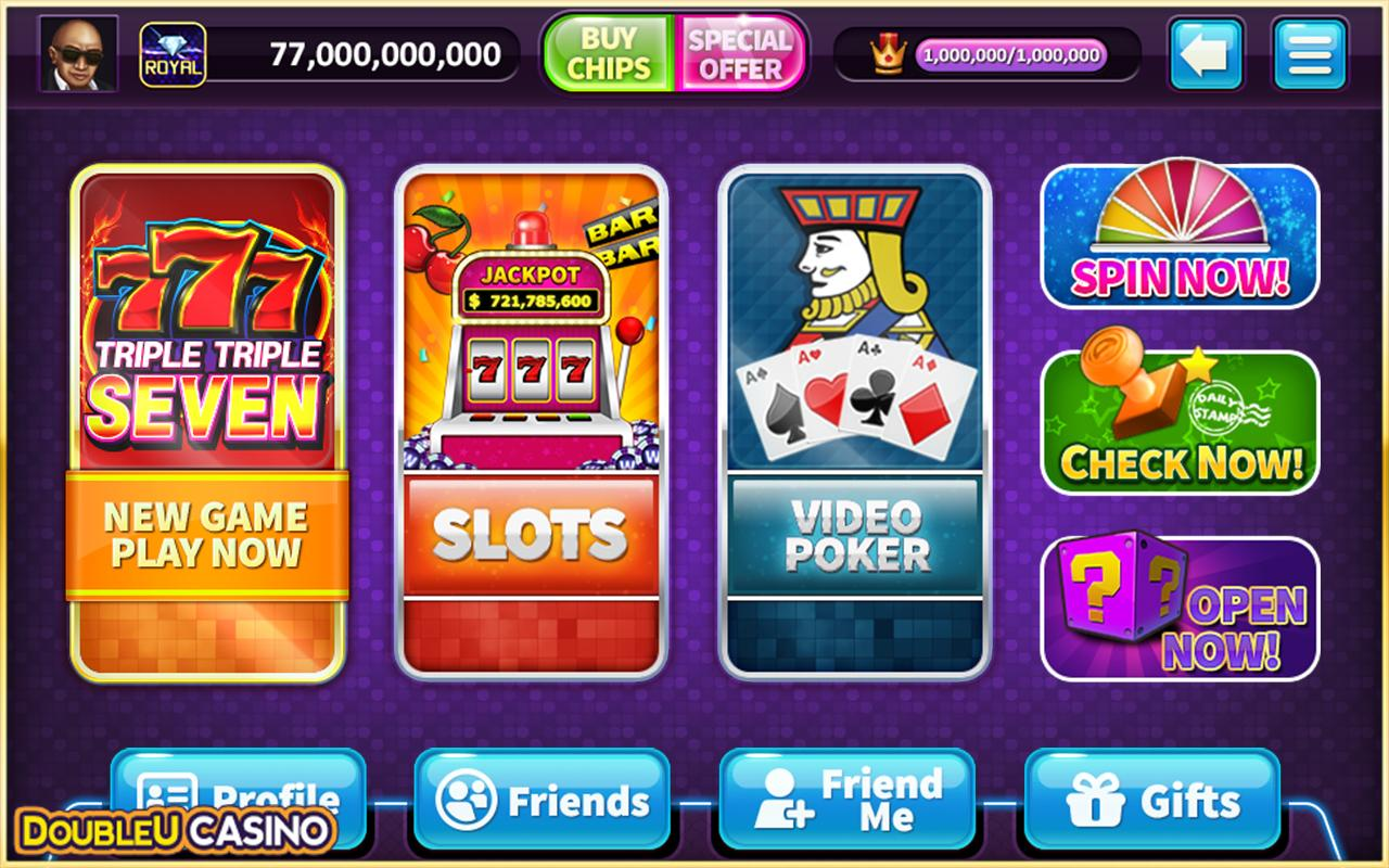 Offline Double U casino games for Android Phone 2018