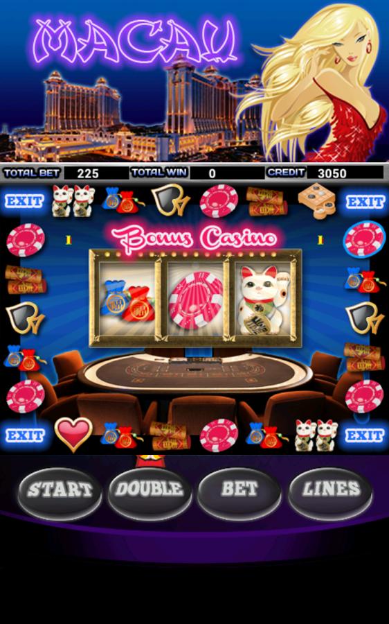 Macau bonus casino