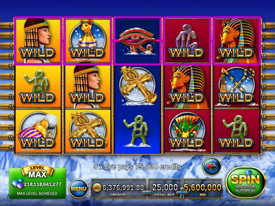 Slot p way pharaoh big game poker star city