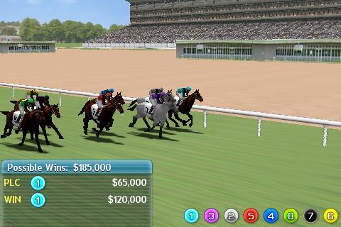 Virtual Horse Racing 3D app