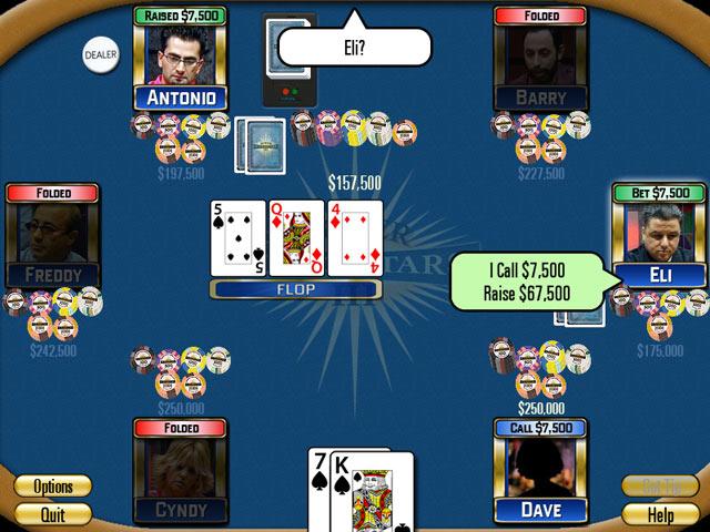 Poker Superstars III for Android screenshot