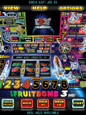 iFruit Bomb 3 – The Fruit Machine Simulator for iPad