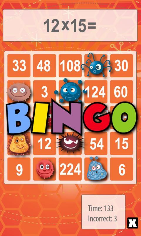 Math Bingo 2