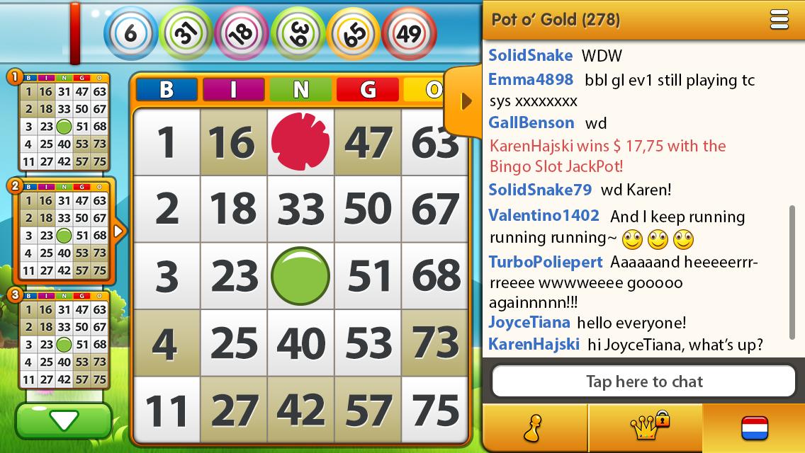 Bingo app Gamepoint