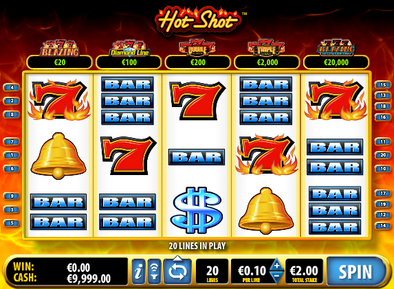 Free Hot Shots Game and Real Money Casino Play